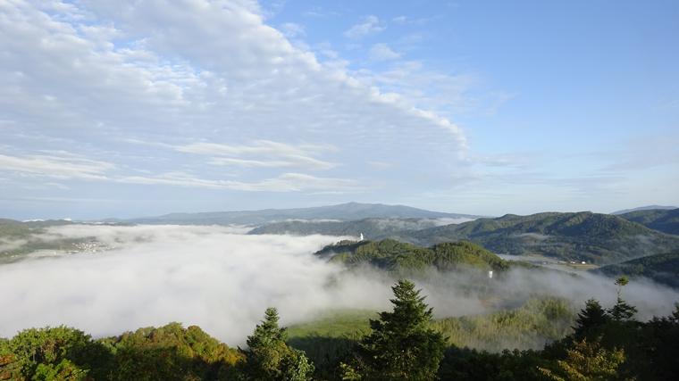 上金剛山展望台からの雲海