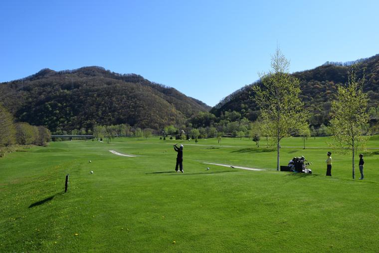空知川ラベンダーの森ゴルフコース2