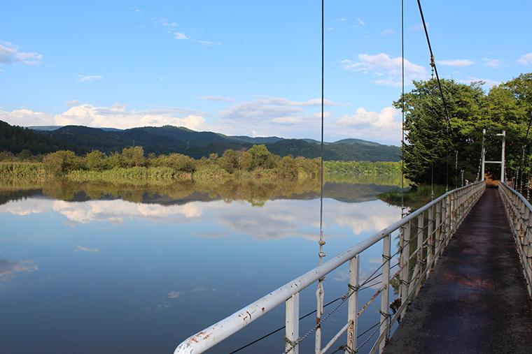 公園内にある野花南湖