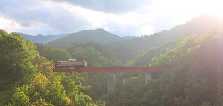 旧三井芦別鉄道炭山川橋梁