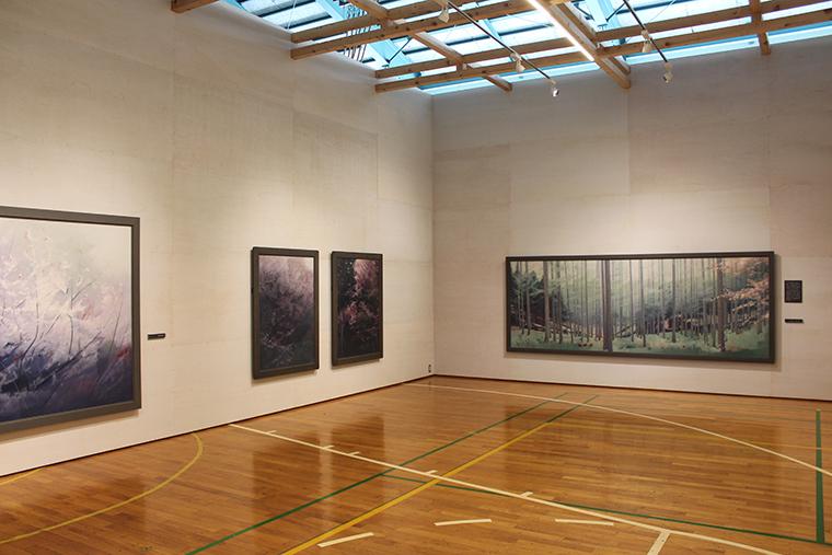 小林英一記念美術館内