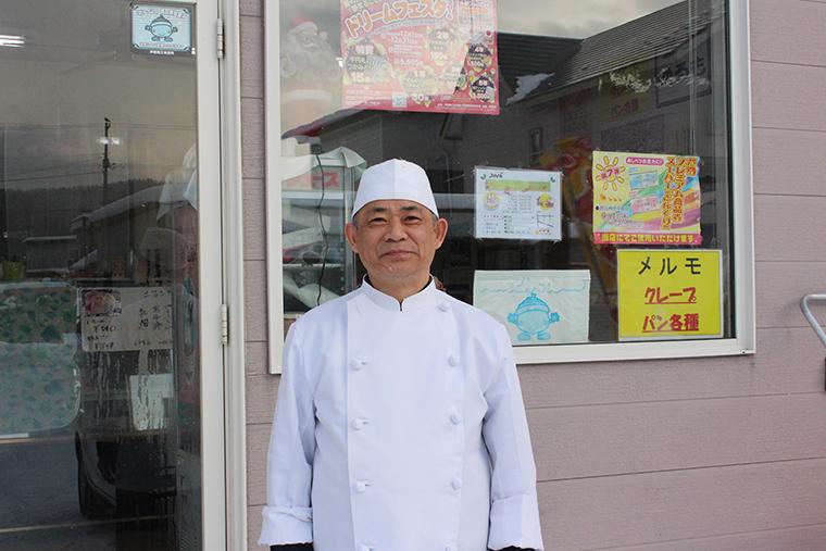 ガトウハウス めるも 店主・米田達市さん