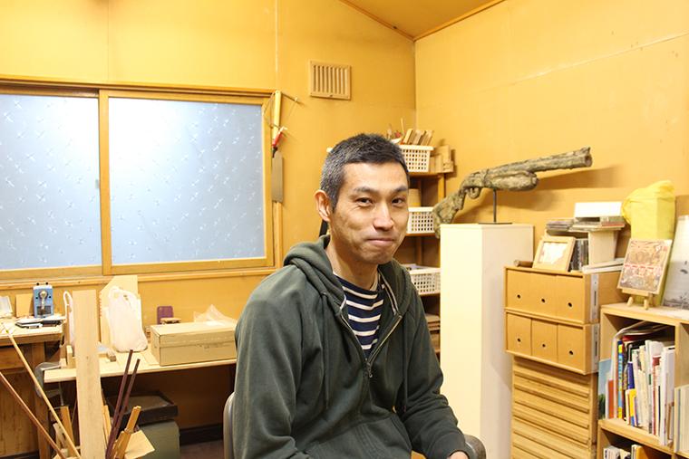造形作家 吉岡滋人さん