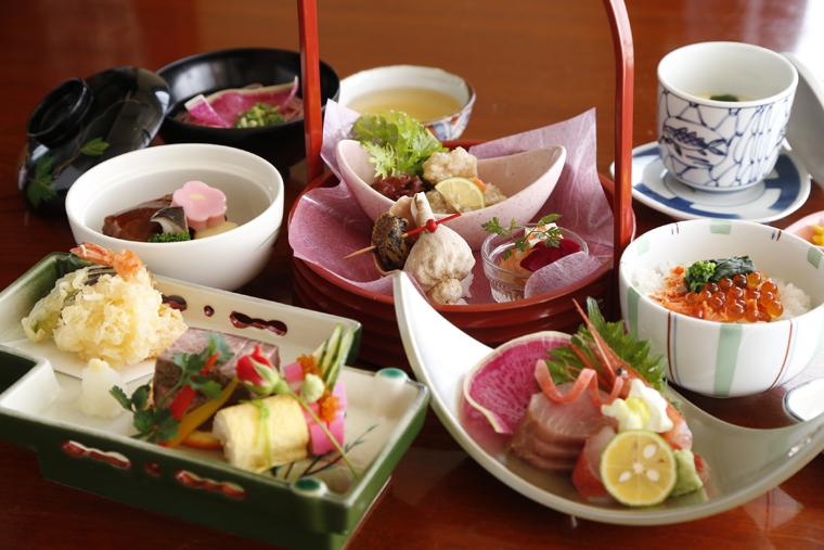 秋田屋旅館 料理