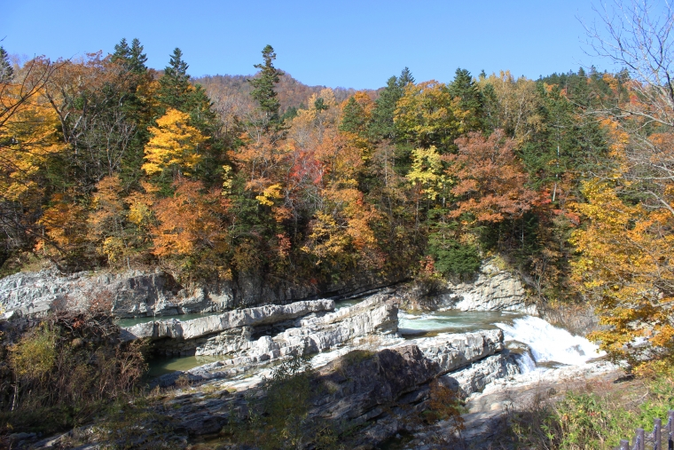 三段滝の紅葉