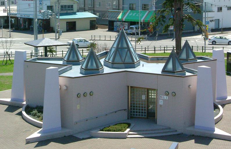道の駅スタープラザ芦別 コミュニティ広場トイレ